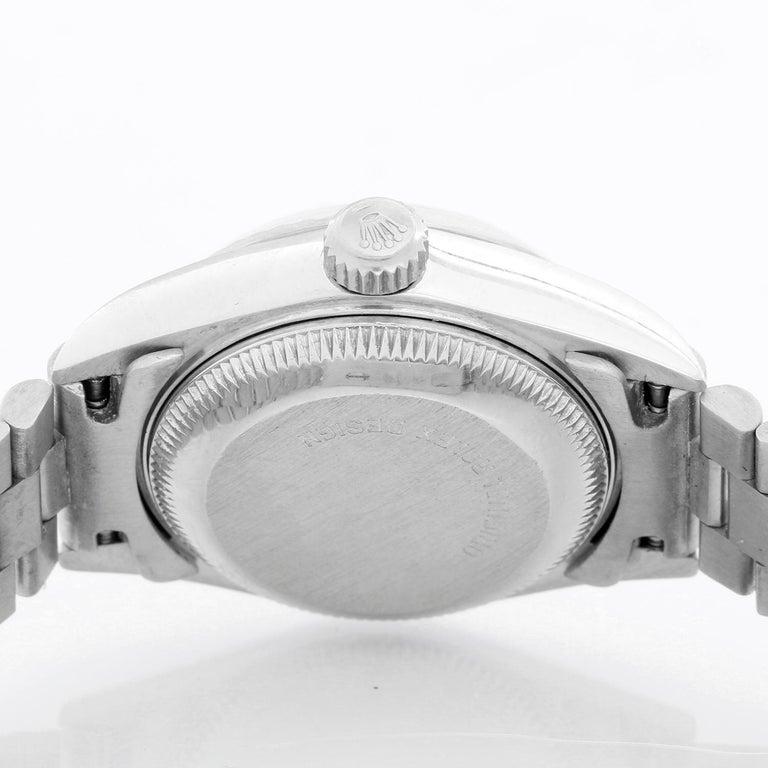 Women's Rolex Ladies Datejust 69139 President Bracelet Watch For Sale