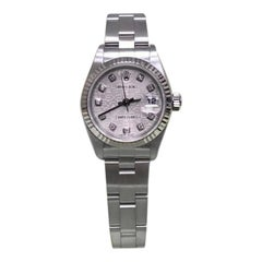Rolex Ladies Datejust 79174 Jubilee Diamond Dial Stainless Steel Box and Papers