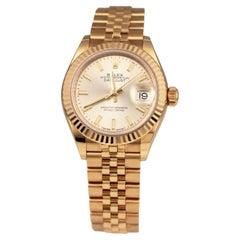 Rolex Ladies Datejust Ref.279175 in 18k Everose Gold Watch