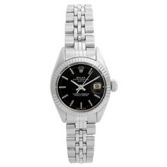 Rolex Ladies Datejust Stainless Steel Watch 6917