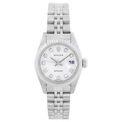 Rolex Ladies Datejust Stainless Steel Watch 79174
