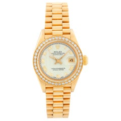 Rolex Ladies President 18 Karat Yellow Gold 69178 Watch