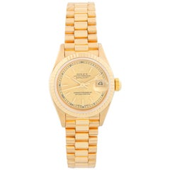 Rolex Ladies President 18 Karat Yellow Gold Watch 69178