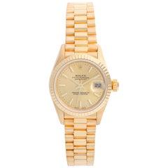Rolex Ladies President 18 Karat Yellow Gold Watch 79178