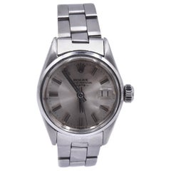 Rolex Ladies Stainless Steel Date