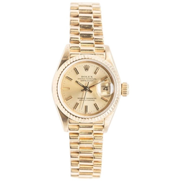 Rolex Lady-Datejust 69173 Gold For Sale