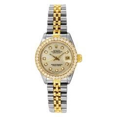 Rolex Lady Datejust Two-Tone Watch 69173