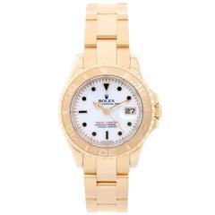 Rolex Ladies yellow Gold Yacht-Master Automatic Wristwatch Ref 69628