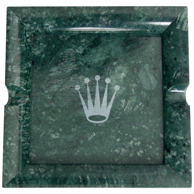 Rolex Marble Ashtray For Sale