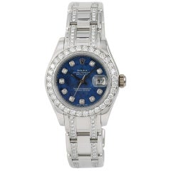 Rolex Masterpiece 80319, Blue Dial, Certified and Warranty