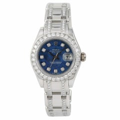 Rolex Masterpiece 80319, Blue Dial Certified Authentic