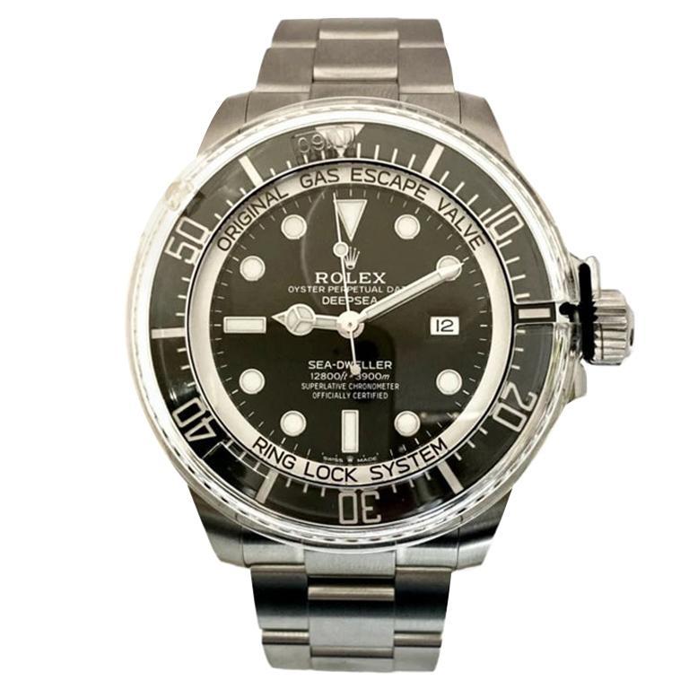 Rolex Men's Oyster Perpetual Deepsea Sea-Dweller Black Dial Watch 126660