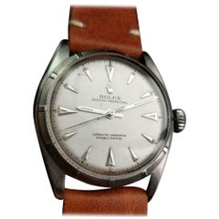 ROLEX Men's Ref.6085 Oyster Bubbleback Automatic, circa 1951 Swiss LV969TAN