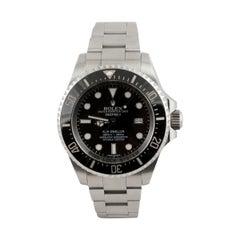 Rolex Men's Sea-Dweller Black Face/Dial Mint Model #116660