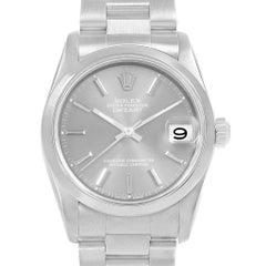 Rolex Midsize Datejust 31 Grey Dial Ladies Steel Watch 68240