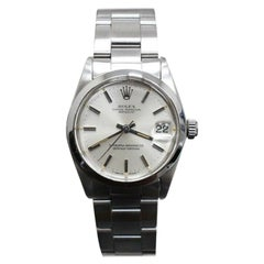 Rolex Midsize Datejust 6824 Stainless Steel Silver Index Dial