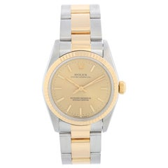 Rolex Midsize Steel and Gold 2-Tone Datejust 67513, Automatic Winding, Stainless