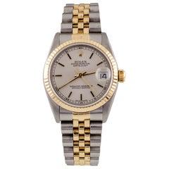 Rolex Midsize Two-Tone SS + 18 Karat Jubilee OPDJ Datejust 78273 Automatic Watch