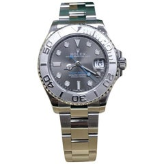 Rolex Midsize Yacht Master 268622 Stainless Steel and Platinum, 2017