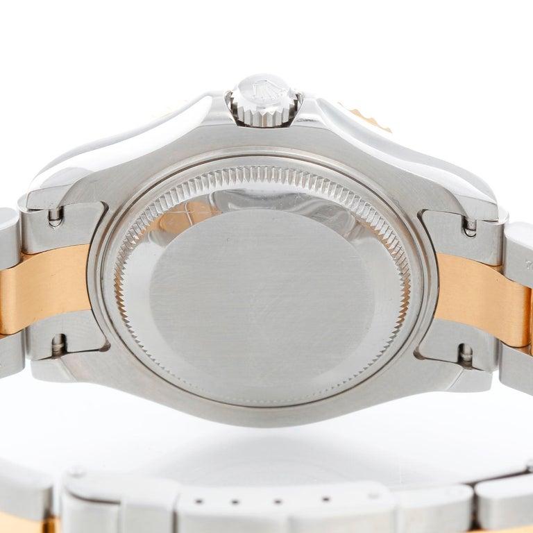 Women's Rolex Midsize Yacht-Master Steel & Gold Men's or Ladies Watch 168623 For Sale