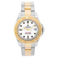 Rolex Midsize Yacht-Master Steel & Gold Men's or Ladies Watch 168623