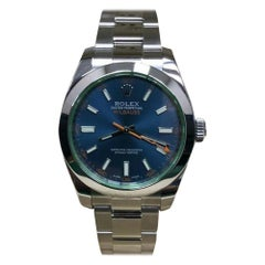 Rolex Milgauss 116400, Black Dial, Certified and Warranty