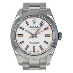 Rolex Milgauss 116400, Case, Certified and Warranty