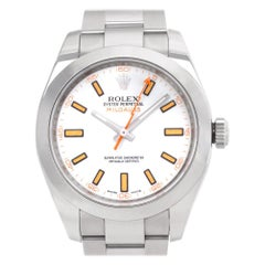 Rolex Milgauss 116400, Certified and Warranty