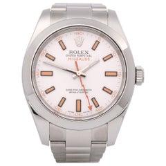 Rolex Milgauss 116400 Men's Stainless Steel Watch