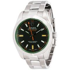 Rolex Milgauss 116400GV Men's Watch in Stainless Steel