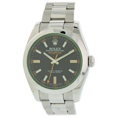 Rolex Milgauss 116400GV Men's Watch with Papers
