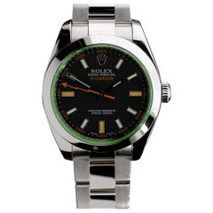 Rolex Milgauss Stainless Steel Watch 116400