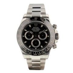 Rolex 116500 Black Dial. Unworn. Certified and Warranty