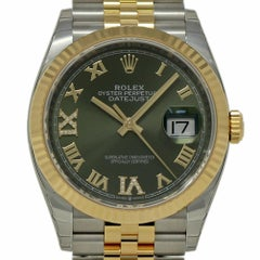 Rolex New Datejust 126233 Steel Gold Diamond 2018 Box/Paper/Warranty #Rl434