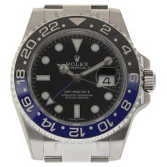 Rolex New GMT-Master II 116710BLNR Steel Batman Box/Paper/Warranty 'Unworn'