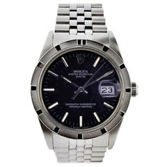 Rolex Oyster Date Perpetual Stainless Steel with Original Certificate, 1970