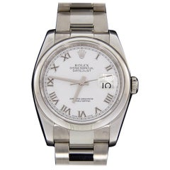 Rolex Oyster Datejust Stainless Steel Watch