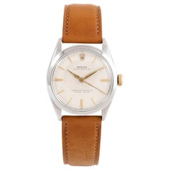 Rolex Oyster Perpetual 1002, Silver Dial, Certified and Warranty