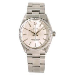 Rolex Oyster Perpetual 1003 Men's Automatic Vintage Watch Stainless Steel