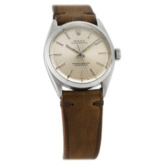 Rolex Oyster Perpetual 1003, Silver Dial, Certified and Warranty
