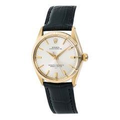 Rolex Oyster Perpetual 1007, Champagne Dial, Certified and Warranty