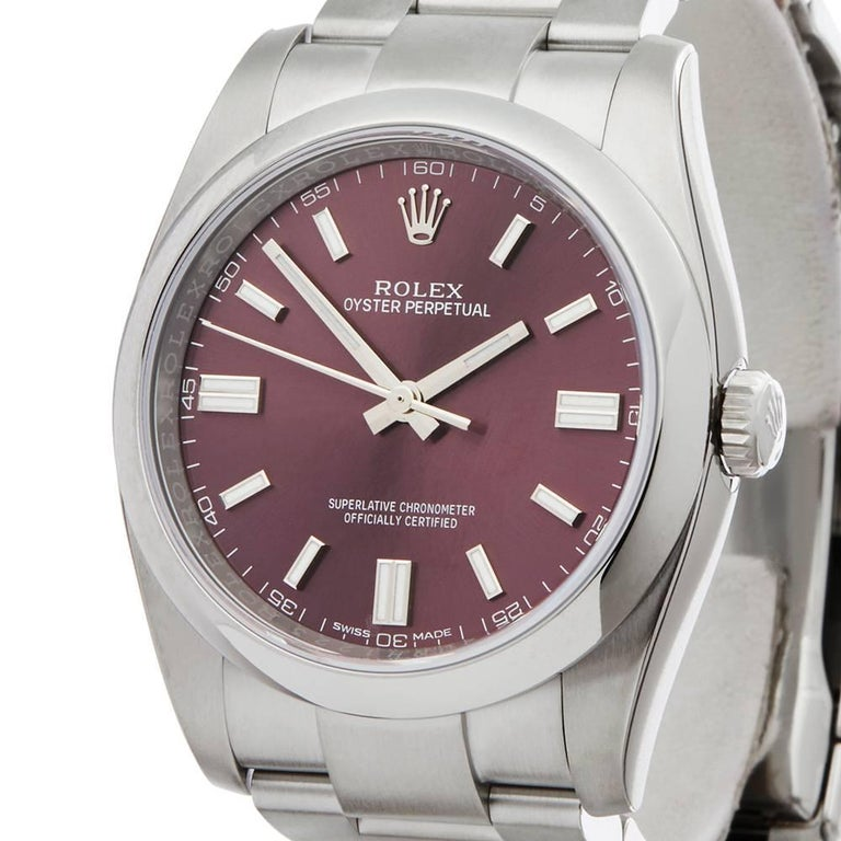 Rolex Oyster Perpetual 116000 In New Condition In Bishop's Stortford, Hertfordshire