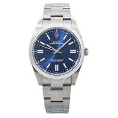 Rolex Oyster Perpetual 124300 Blue Dial Automatic Men's Watch