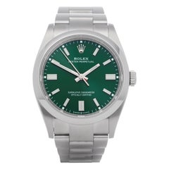 Rolex Oyster Perpetual 126000 Men Stainless Steel Watch
