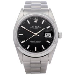 Rolex Oyster Perpetual 15200 Unisex Stainless Steel Date Watch