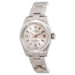 Rolex Oyster Perpetual 176200 Domino's Women's Watch in Stainless Steel