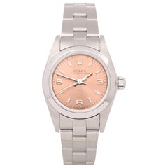 Rolex Oyster Perpetual 24 76080 Ladies Stainless Steel Watch
