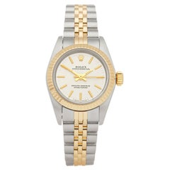 Rolex Oyster Perpetual 24 Stainless Steel and Yellow Gold 67193