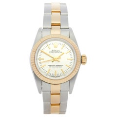 Rolex Oyster Perpetual 26 67193 Ladies Stainless Steel and Yellow Gold Watch