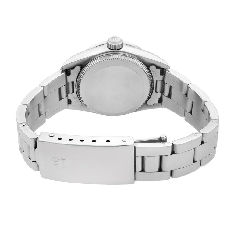Rolex Oyster Perpetual Custom Diamond